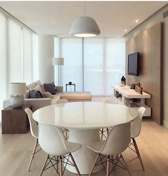 Decoração de apartamento: Sala