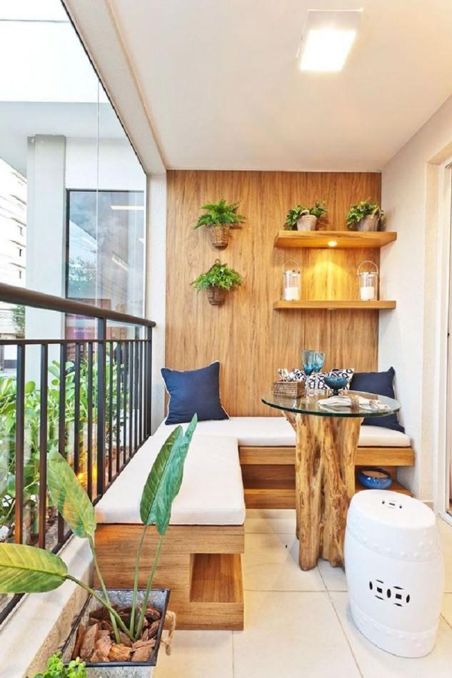 Decoração de apartamento: Sacada ou Varanda