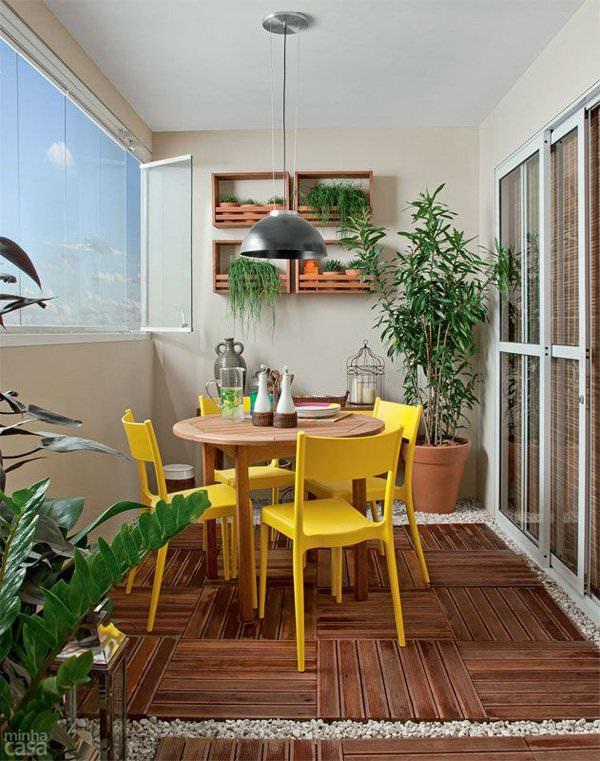 Decoração de apartamento: Sacada ou Cortina de Vidro